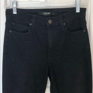 Black joes jeans with fringe bottom